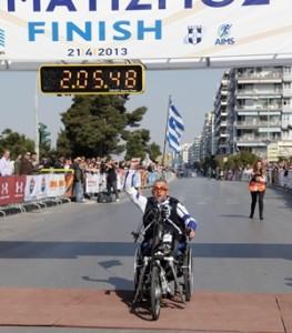 8th International Marathon Alexander the Great Marathon & 5km &10km Road Race Thessaloniki Greece 21 April 2013. Photos Chloe Pissa