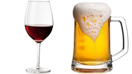 μπύρα ή κρασί
