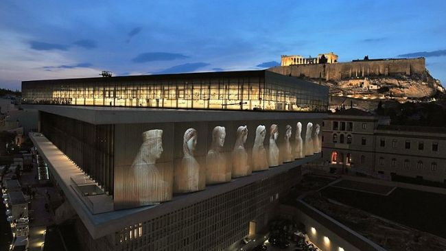 Acropolis_Museum_by_night