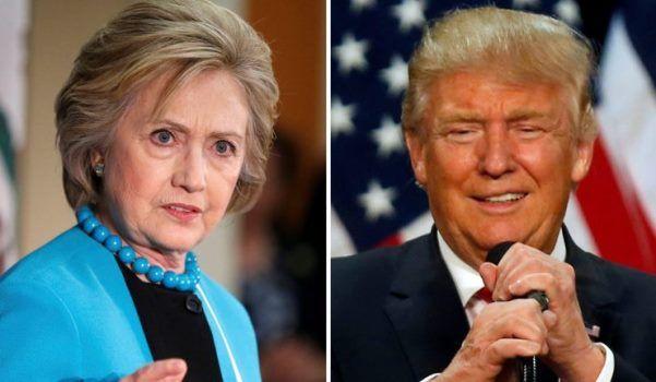 Χίλαρι Κλίντον-Ντόναλντ Τραμπ