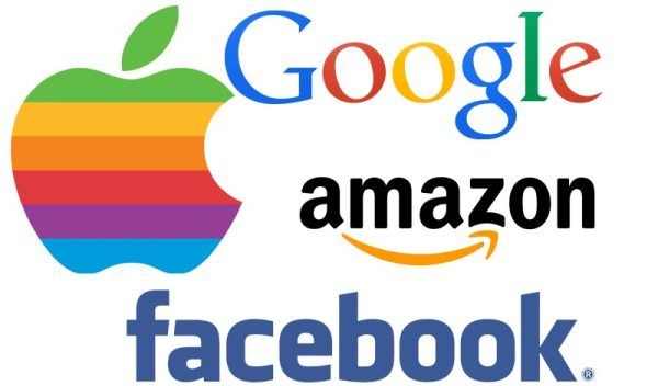 apple facebook google amazon