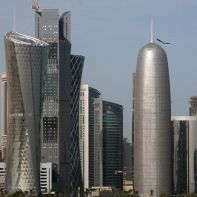 epa06011226 (FILE) - A general view of the skyline of Doha, Qatar, 05 February 2010 (reissued 05 June 2017). According to media reports, Egypt, Saudi Arabia, Bahrain and the United Arab Emirates cut off diplomatic ties with Qatar on 05 June 2017, accusing Qatar of supporting terrorism.  EPA/IAN LANGSDON