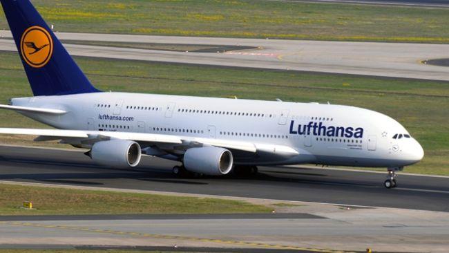 Lufthansa Airbus A380-800 mit dem Kennzeichen D-AIME trägt den Namen Johannesburg