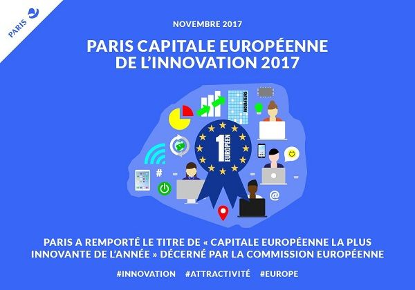Paris capitale innovante - image officielle