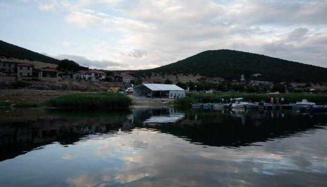 Psarades village, Prespa Lake, Greece on June 16, 2018. / Ψαράδες, Λίμνη Πρέσπα, Ελλάδα, 16 Ιουνίου 2018.