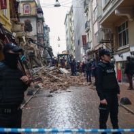 Turkey Buildings Collapsed
