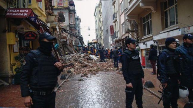 Turkey Buildings Collapsed
