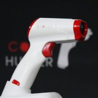 """Florida, USA - 26, Jan. 2021 The COVID Hunter device. A Technological breakthrough will allow world to return to pre-COVID """"normal"""" in near future. Advanced Medical Solutions International (AMSI) announces at an international press conference the details of The COVID Hunter, the world's first touchless viral detector specially designed to immediately identify the presence of the SARS-CoV-2 virus. The COVID Hunter is a non-invasive, touchless, immediate, and portable detector of the virus SARS-CoV-2 which causes the disease COVID-19, demonstrating >99% specificity and sensitivity within 0-2 meters (6.5 feet) on surfaces, through glass or transparent material, and inside the human body. Nobel Prize-winning molecular geneticist, Professor Mario Capecchi, serves as an advisor to AMSI on this and the company's other breakthrough technologies - including a cure for allergic airway disease and chronic obstructive pulmonary disease (COPD) that is currently in the preliminary phase of FDA approval. AMSI technology builds upon research performed by Professor Maria Grant at the University of Florida and the University of Alabama at Birmingham and the work of Dr. Adeeb Al-Zoubi at Stem Cells Arabia in Jordan, the sister company of AMSI. AMSI is working with Biologics Consulting Group, Inc. to handle the FDA Emergency Use Authorization (EUA) submission for The COVID Hunter. """"The handheld COVID Hunter will revolutionize the way SARS-CoV-2 (including mutated strains) is detected, slowing the spread of the deadly virus, saving lives, and returning life to 'normal' in the near future,"""" explains Donald Redman, Co-founder and Chief Executive Officer of AMSI. The distribution of The COVID Hunter would allow rooms, restaurants, venues, vehicles, hospitals, hotels, schools, offices, and others to be scanned for SARS-CoV-2. Surfaces with the virus will be cleaned and retested to ensure the disinfectant was successful. Once areas are clean, persons and objects entering the area would be sc"""